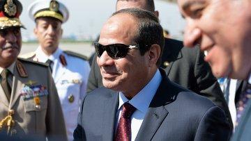 Президент Египта Абдель Фатах ас-Сиси. Архивное фото