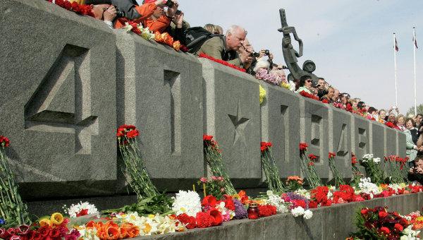 Мероприятия в честь Дня Победы в Риге. Архивное фото