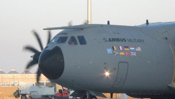 Лайнер Airbus A400M. Архивное фото