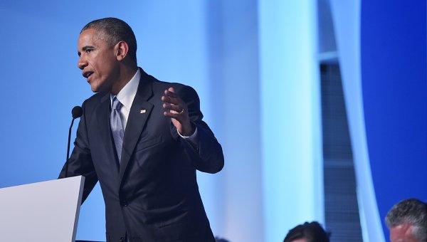 Выступление Барака Обамы на форуме в Панаме. Архивное фото