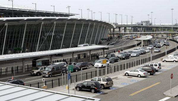 Один из терминалов международного аэропорта Нью-Йорка имени Джона Кеннеди