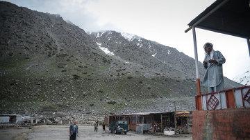 На перевале Саланг в Афганистане