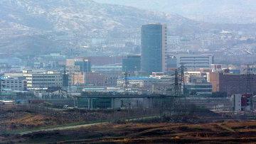 Индустриальный комплекс в Кэсоне, Северная Корея