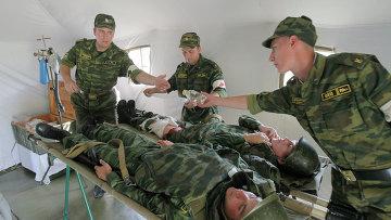 Военные врачи. Архивное фото