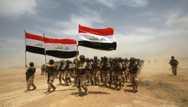Иракские солдаты на учениях. Архивное фото