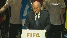 Это позор и оскорбление футболу – Блаттер об арестах чиновников ФИФА