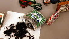 Жевательный табак. Архивное фото