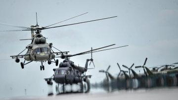 Вертолеты Ми-8. Архивное фото