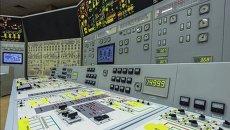 Щит управления энергоблока. Архивное фото