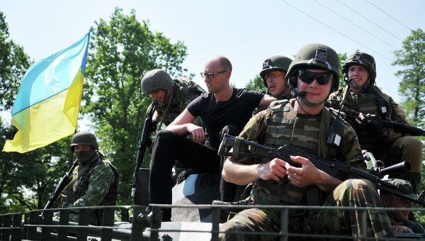 Украино-американские учения Fearless Guardian. Архивное фото