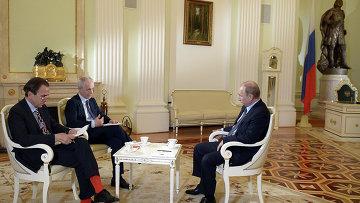 В преддверии визита в Италию президент РФ В.Путин дал интервью газете Il Corriere della Sera
