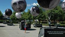Акция протеста против саммита G-7, архивное фото