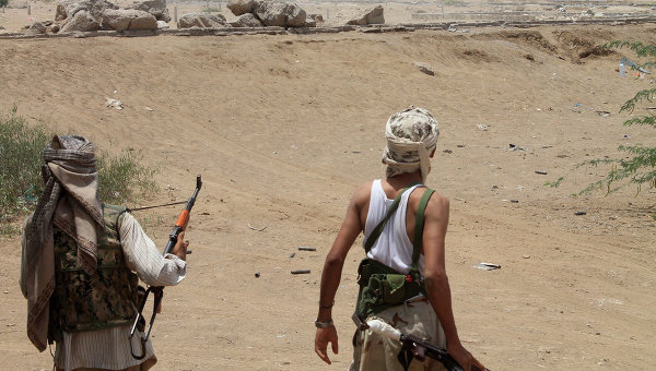 Йеменские боевики сепаратистского движения. Архивное фото