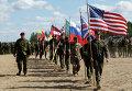 "Учения НАТО ""Удар сабли"" в Латвии"