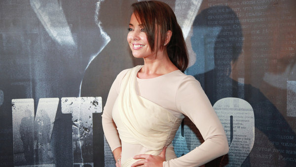 Актриса и певица Жанна Фриске. Архивное фото