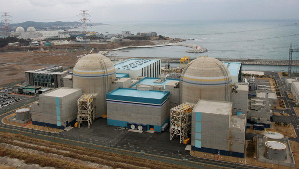 АЭС Кори, Южная Корея. Архивное фото