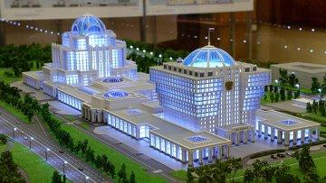 Проект Парламентского центра. Архивное фото
