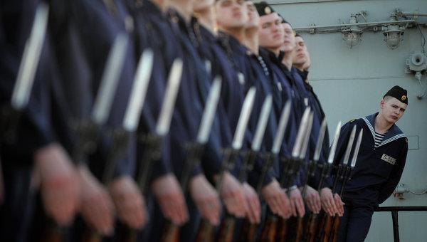 Российские моряки. Архивное фото