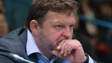 Губернатор Кировской области Никита Белых на ПМЭФ 2015