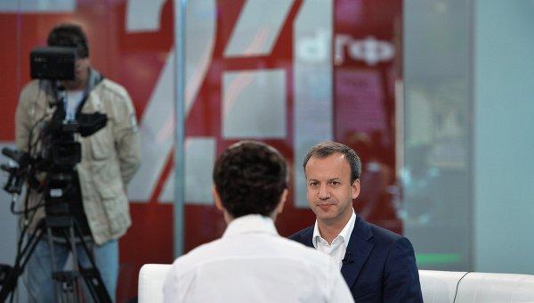 Заместитель председателя правительства РФ Аркадий Дворкович на XIX Петербургском международном экономическом форуме