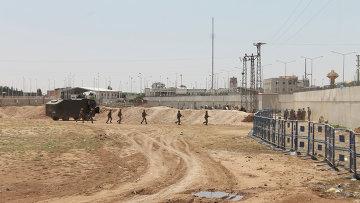 Ситуация на турецко-сирийской границе. Архивное фото