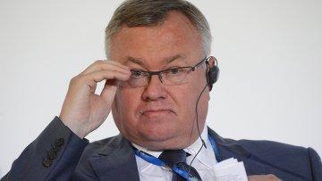 Президент — председатель правления, член наблюдательного совета, ОАО Банк ВТБ Андрей Костин. Архивное фото