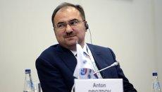 Председатель правления Пенсионного фонда РФ Антон Дроздов. Архивное фото