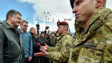 Американские военные инструкторы прибыли на Украину. Архивное фото
