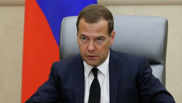 Премьер-министр РФ Д.Медведев, Архивное фото