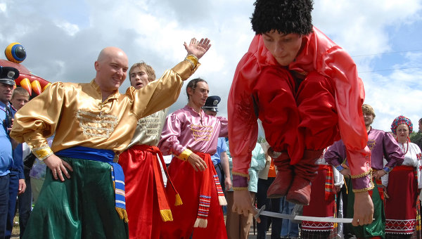 Международный фестиваль славянских народов Славянское единство-2007. Архивное фото