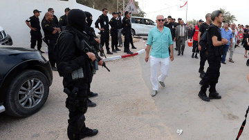 Сотрудники полиции Туниса. Архивное фото.