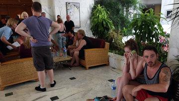 Туристы отеля Imperial в городе Сусс