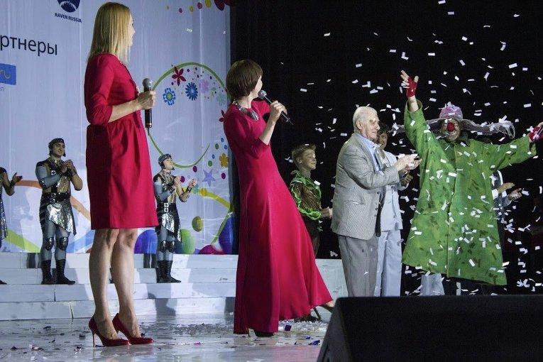 Церемония открытия Всемирных детских Игр победителей-2015