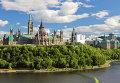 Здание парламента в Канаде