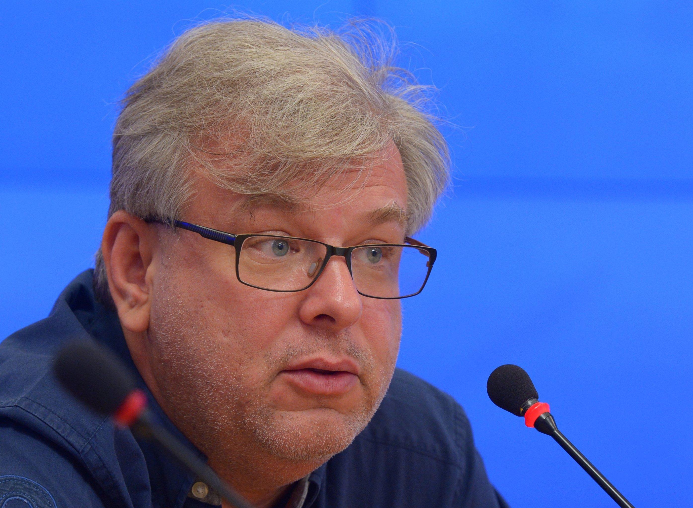 Дмитрий Куликов на презентации экспертной исследовательской площадки Зиновьевский клуб