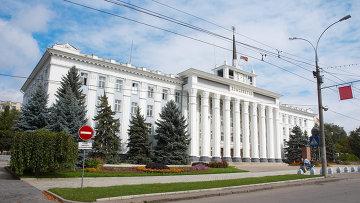 Дом Советов в Тирасполе. Архивное фото