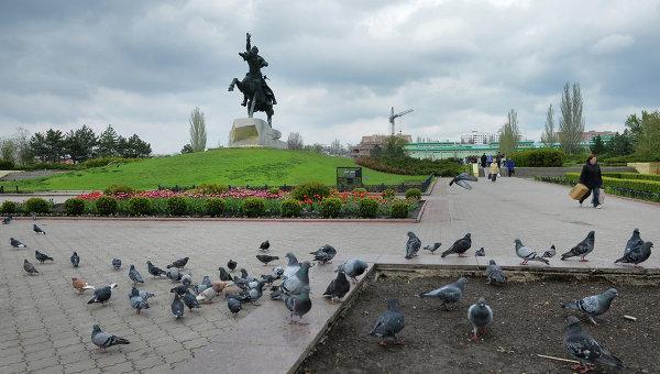 Город Тирасполь. Приднестровье. Архивное фото