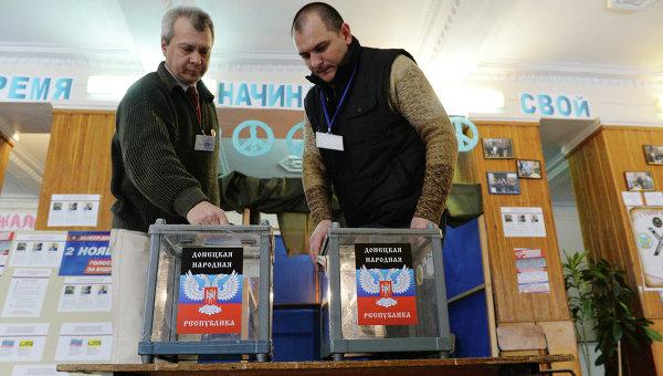 Выборы в ДНР, архивное фото