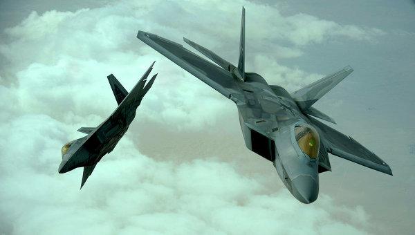Истребители ВВС США. Архивное фото