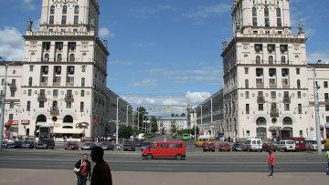 Город Минск. Архивное фото