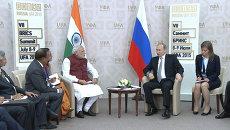 Путин на встрече с премьером Индии объяснил, почему раньше не занимался йогой
