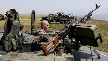 Позиции ВСУ в Донецкой области. Архивное фото