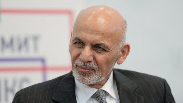 Президент Исламской Республики Афганистан Ашраф Гани Ахмадзай. Архивное фото