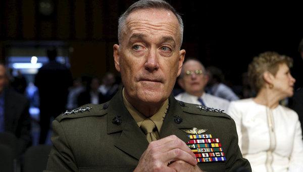 Командующий корпусом морской пехоты США генерал Джеймс Данфорд. Архивное фото
