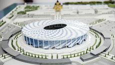 Строительство стадиона Нижний Новгород к ЧМ-2018. Архивное фото