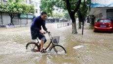 Китай, наводнение. Архивное фото