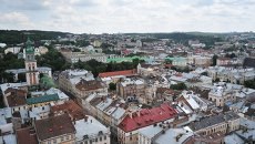 Города мира. Львов. Архивное фото