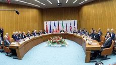 Участники переговоров по иранской ядерной проблеме в Вене, Австрия
