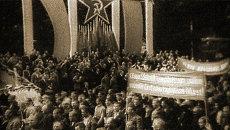 Страны Прибалтики пополнили семью советских республик. Съемки 1940 года