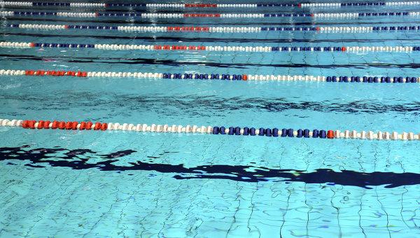 Бассейн. Водные виды спорта. Архивное фото.